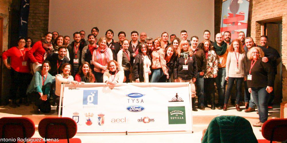 Lora del Río participó en la actividad 'A una hora de Sevilla'
